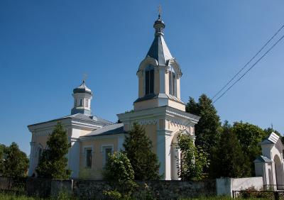 Храм святителя Николая Чудотворца д.Пески (1870)