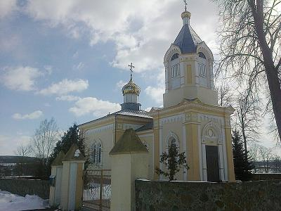 Храм в честь Воздвижения Креста Господня д.Колонтаи