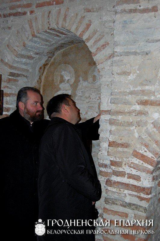 Мэр Гродно посетил Коложский храм