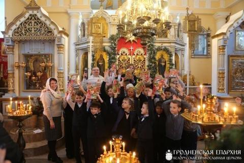 Рождественские мероприятия на приходе храма поселка Зельва