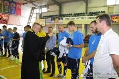 Священник встретился с участниками чемпионата Республики Беларусь по мини-футболу