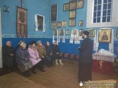 На приходе деревни Доброволя прошла беседа о митрополите Иосифе (Семашко)