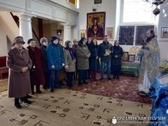 В храме деревни Горностаевичи прошла беседа на тему «Православная книга»