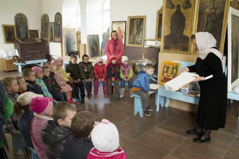 Малыши Коптевского детского сада посетили храм