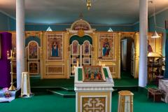 Храм святого преподобного Мартина Туровского г.п.Желудок (1998)