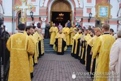 В Гродно прибыли мощи святителя Луки