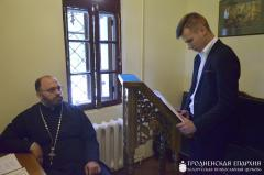 Архиепископ Артемий встретился с абитуриентами духовных школ