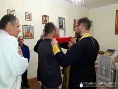 В дни святок священники посетили дом-интернат в Вертелишках