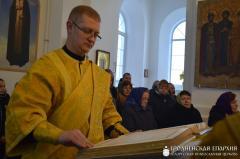 Архиепископ Артемий совершил литургию в храме деревни Мижеричи