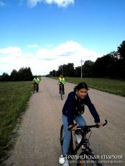 Велопаломничество в деревню Раковичи