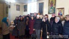 Встреча с прихожанами прихода поселка Порозово