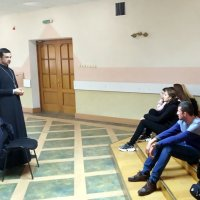 Иерей Александр Богдан встретился с курсантами «Школы выживания»